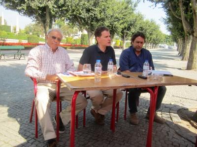 Pedro Soares, José Ilídio Torres e Manuel Carlos Silva