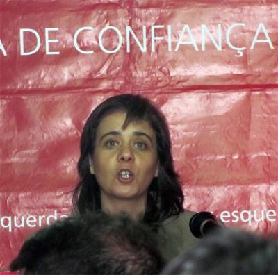 Catarina Martins em Alvito S. Pedro